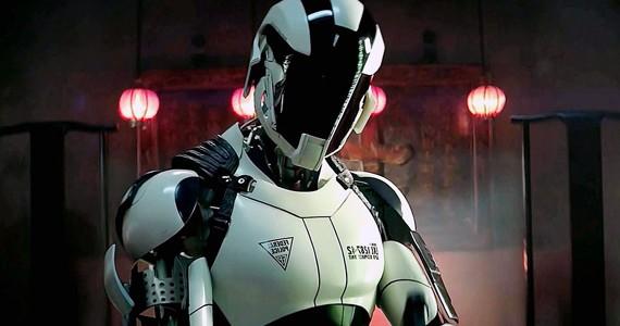 Total Recall 2012 Robots Black
