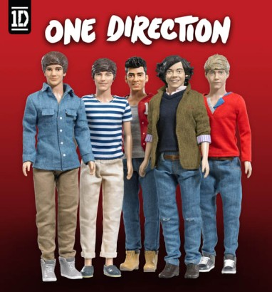 Now you can own your own member of One Direction - in miniature version