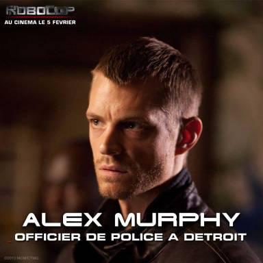 Robocop Alex Murphy Joel Kinnaman
