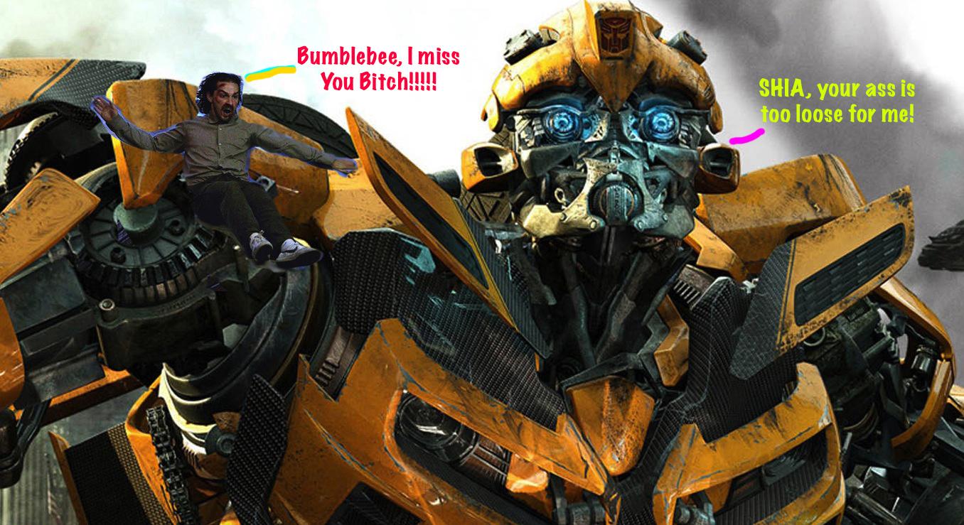 Bumblebee Robot Transformers HD Wallpaper 02 Copy