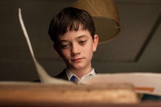 Lewis MacDougall stars as Conor in J.A. Bayona's visually spectacular and stunningly emotional drama A MONSTER CALLS, a Focus Features release.  Photo Credit: Quim Vives / Focus Features _MG_2839.CR2